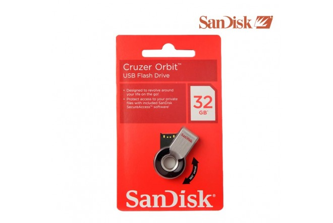 Memoria USB SANDISK 32GB Orbit