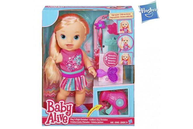BABY ALIVE Cristina Lindos Peinados