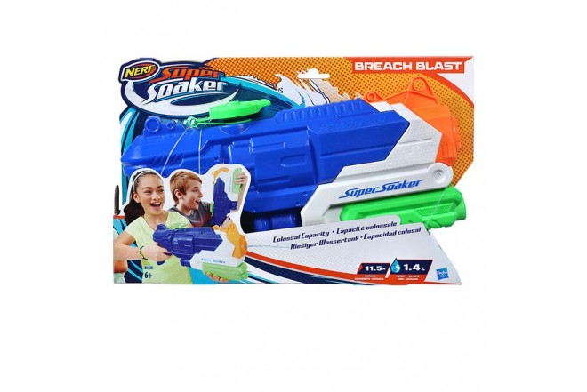 NERF Lanzador Super Soaker Breach Blast