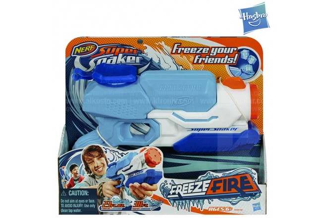 New SUPERSOAKER Freezefire