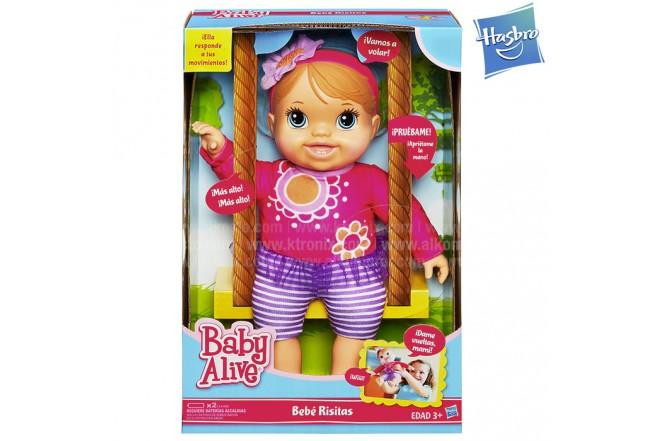 BABY ALIVE Bebé Risitas