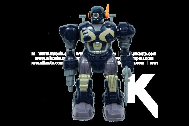 Set De 3 Figuras M.A.R.S. Motorized Attack Robo Squad