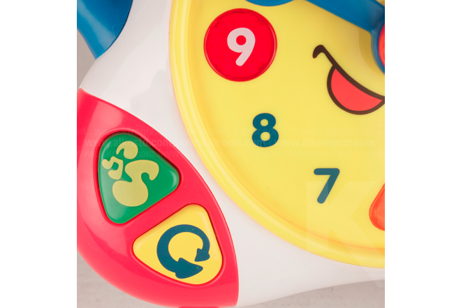 Reloj De Aprendizaje Bilingüe