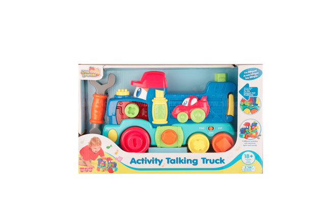 Tren Activity Talking Truck
