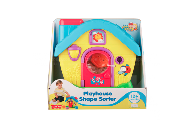 Set Playhouse Shape Sorter