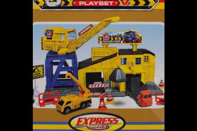 Playset Construcción Express Wheels