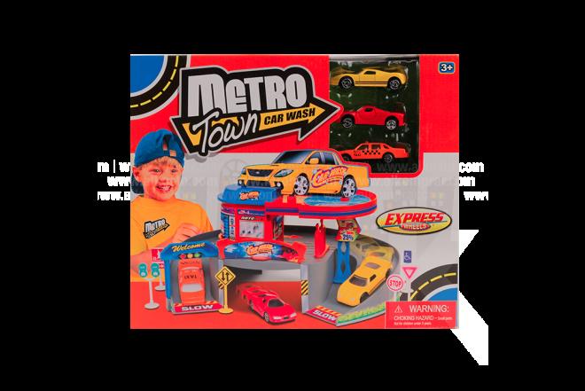 Playset Metro Town Car Wash