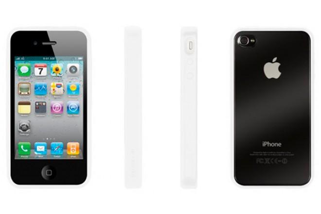 Funda GRIFFIN Reveal Blanca para iPhone 4