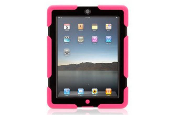 Funda GRIFFIN Survivor Rosa para iPad3