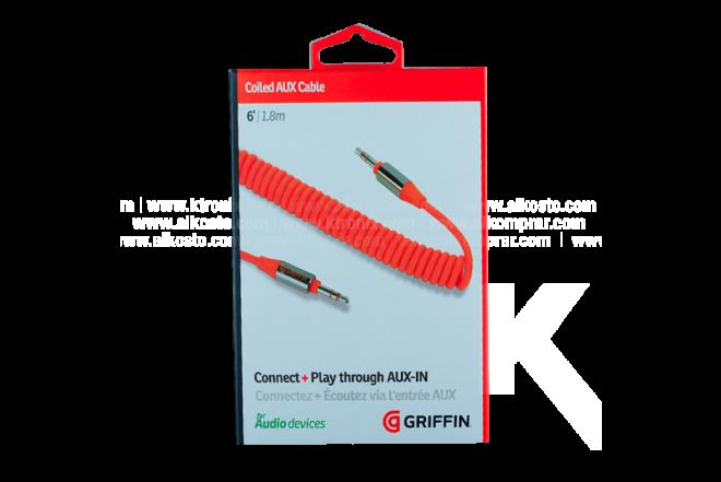 Cable GRIFFIN Flat Uno/Uno 1.82 M Orange