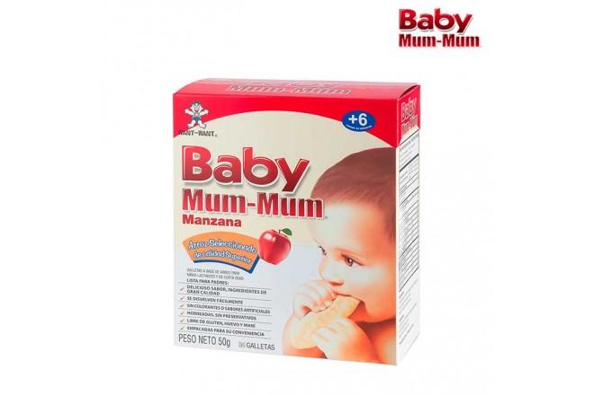Galletas BABY MUM-MUM Manzana x24 und.