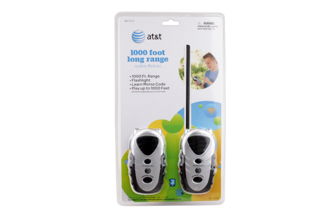 Walkie Talkies 1000 Pies AT&T (Juguetes)