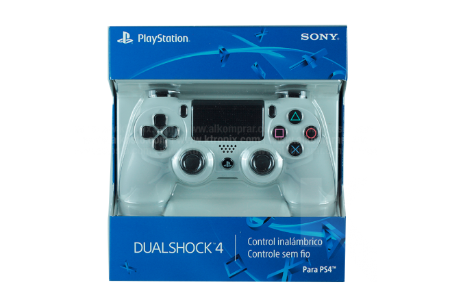Control PS4 Dual Shock SONY Color Blanco