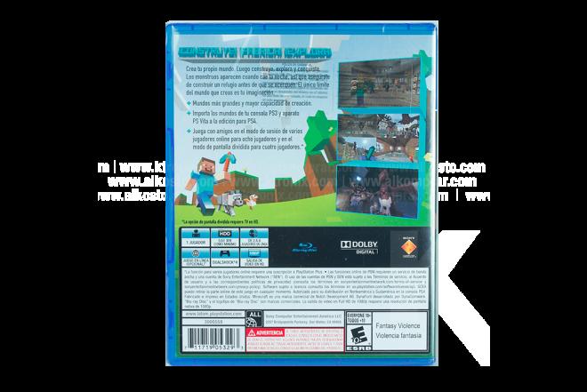 Video Juego PS4 SONY Minecraft