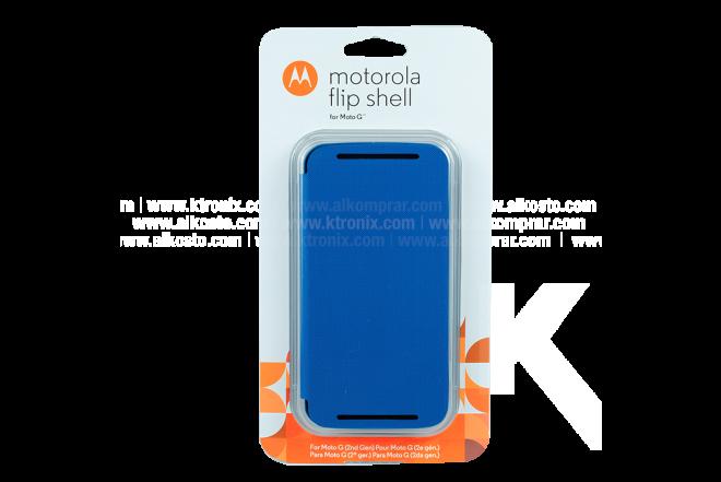 FlipCover Motorola Nuevo Moto G Azul