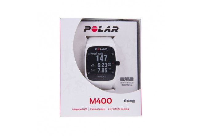 Monitor Polar - M400 - HR Blanco