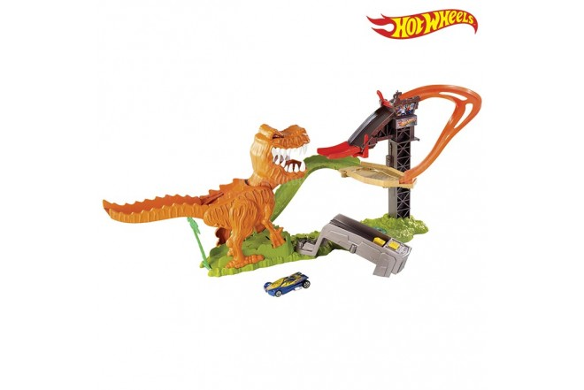 Duelo de t-rex HOT WHEELS X2700