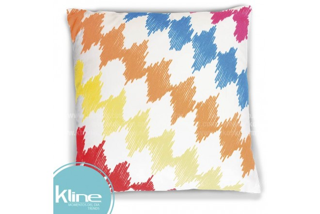 Cojín K-LINE Rayas Multicolor 45x45 cm