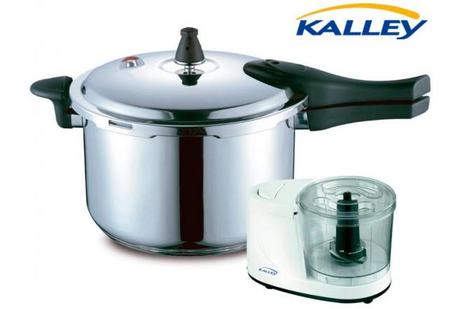 Kombo KALLEY Olla a Presión 7L + Procesador de Alimentos PA100