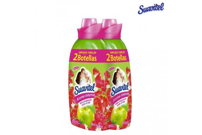 Suavizante SUAVITEL Manzana y Frutos Rojos 2.9L x2 und.