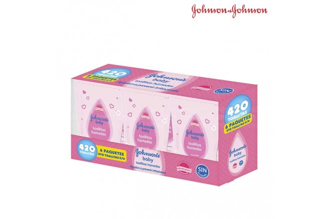 Pañitos JOHNSONS Original x 420 unidades