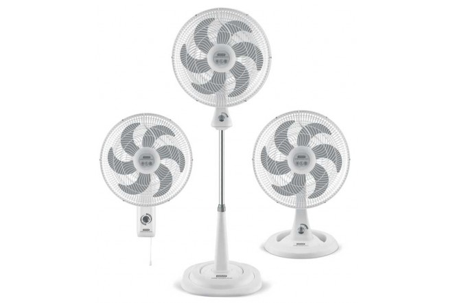 Ventilador SAMURAI TurboSilen Max 3 en 1