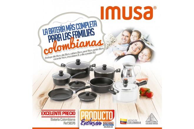 Juego de Ollas IMUSA 14 Piezas Colombiana