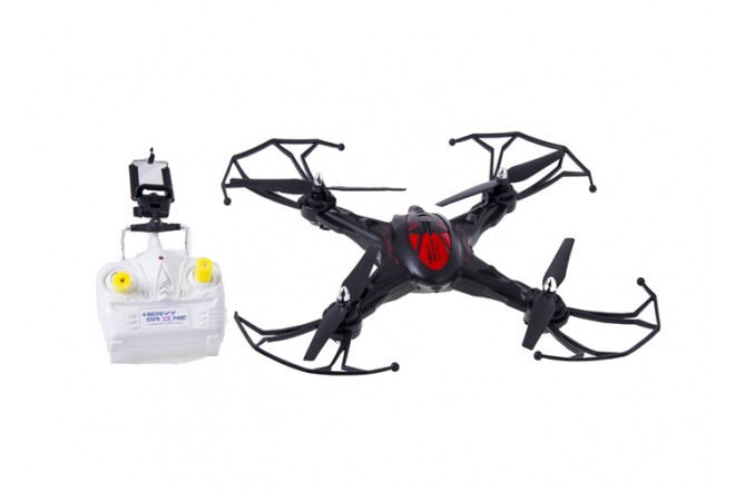 Drone Heavy con Camara - VDM - Cuadricoptero a Control Remoto - Negro