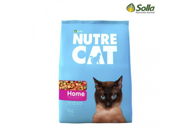 Alimento para Gatos NUTRECAT Home 8Kg