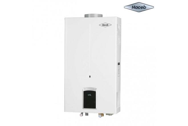 Calentador de paso a gas HACEB CPG 13TN Gas Natural Display
