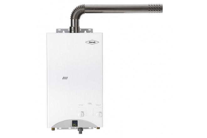 Calentador de paso a gas HACEB CPG 13TF