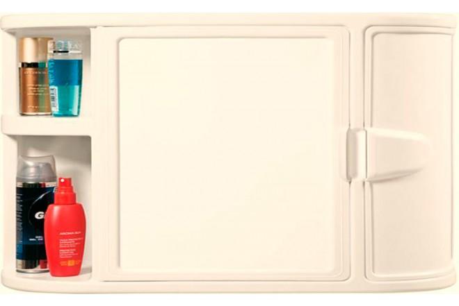Gabinete RIMAX para Baño + Espejo Beige