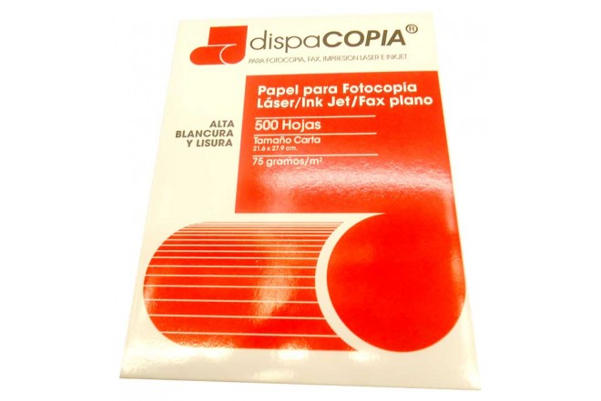 Resma de papel DISPACOPIA Carta 75g