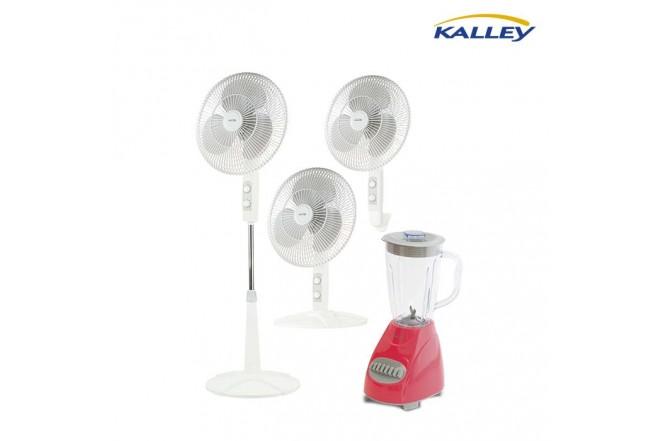 Kombo KALLEY Ventilador KV31 + Licuadora BPP40R