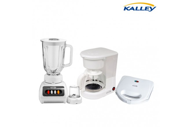 Kombo KALLEY Licuadora P40V + Saduchera 101 + Cafetera 100K