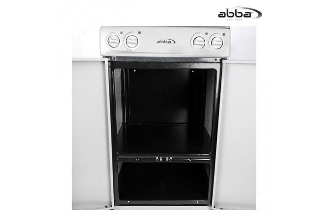 """Estufa ABBA AB100-5 GT51SEGN""""GDI Gris"""