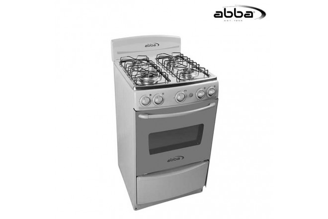 Estufa ABBA 20 AB 101-5N G Gas Natural - Color Gris