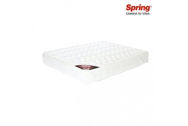 Colchón SPRING Semidoble Pillow Top 130x190 cm