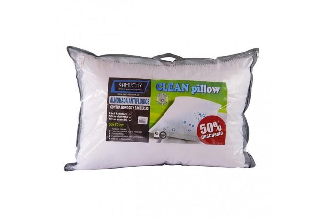 Almohada KAMUCHY Clean Pillow + Protector Antifluido