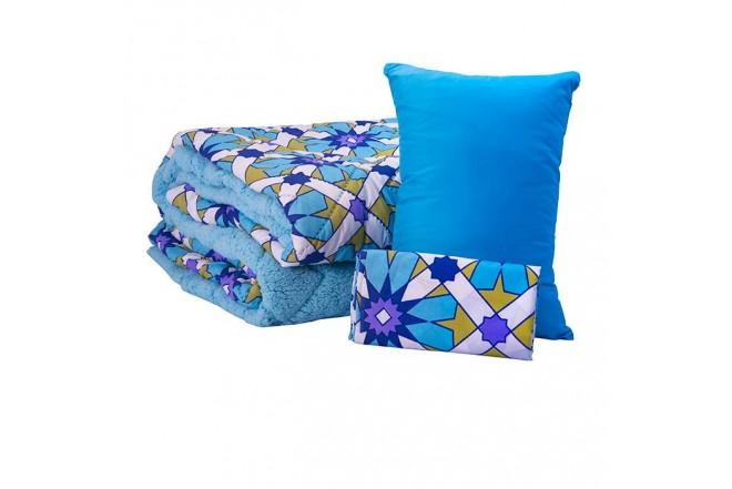 Comforter Estampado KAMUCHY Doble Ovejero Azul