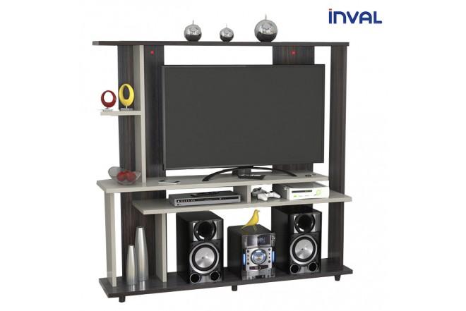 Centro de Video y Sonido INVAL CVS14202 Tabacco Chic - Chantilli
