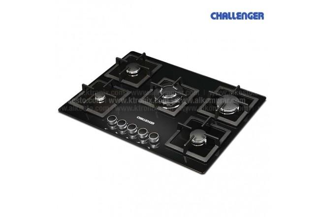 Cubierta CHALLENGER 76 SQ6778 5 Puestos Gas Natural Negra