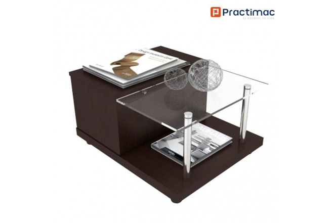 Mesa de centro PRACTIMAC Loft Wengue pm3401051