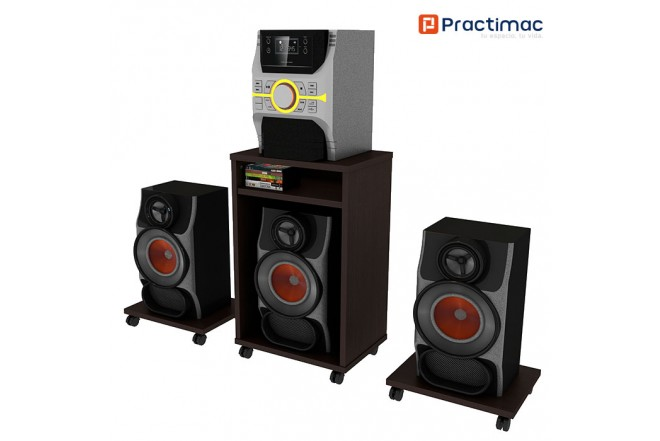 Set de sonido PRACTIMAC Estelar Wengue pm40026WE