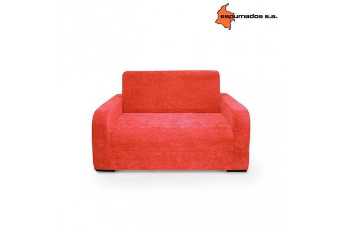 Sofa Cama ESPUMADOS Austin Chanel Rojo
