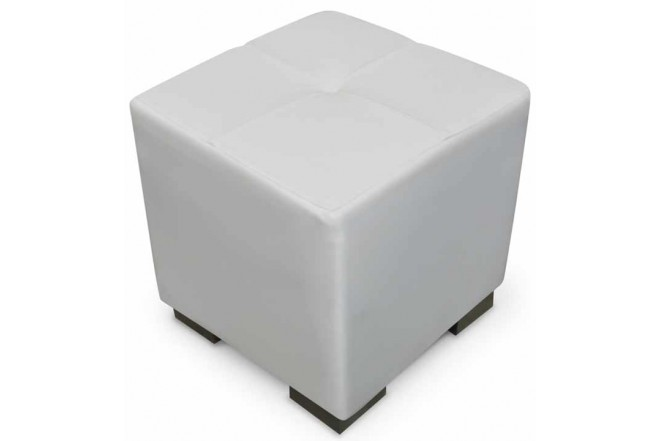 Puff Coralina Blanco