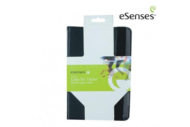 """Estuche Tablet ESENSES Base Girable 7"""" Negro"""