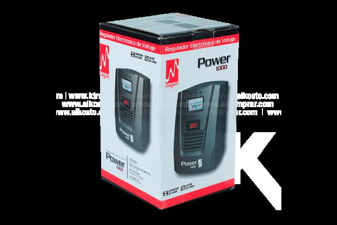 Regulador Voltaje Power 1000  MAGOM