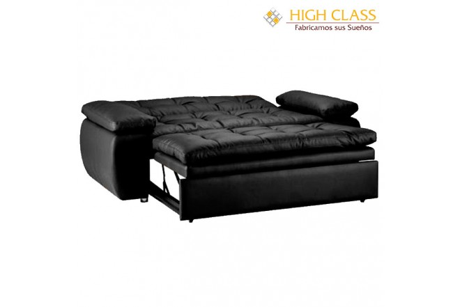 Sofá cama HIGH CLASS Car Yoga Negro