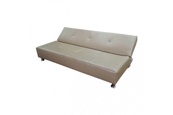 Sofá cama HIGH CLASS Bonsoi Ecocuero Tabaco